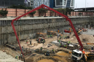 Construction update for Harbour Arch October 2020